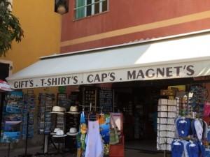 tienda para turistas en Francia