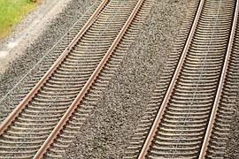 vías de tren paralelas
