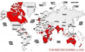 Imperio británico en 1920