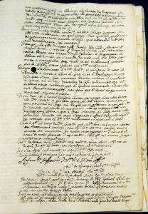 Manuscrito escritura antigua