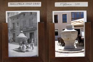 Dos imágenes del mismo lugar en épocas diferentes