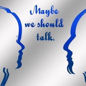 Dos perfiles sugiriendo conversación