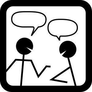 Emoticono charla